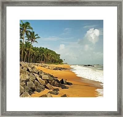 Chembarika Beach, Kasargod Framed Print by Rajesh Vijayarajan Photography