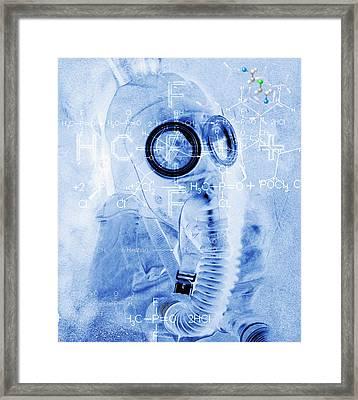 Chemical Warfare Framed Print by Mehau Kulyk