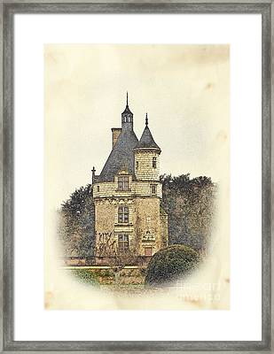 Chennonceau Castle Framed Print by Paul Topp