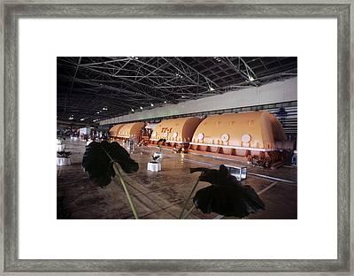 Chernobyl Turbine Generators Framed Print by Ria Novosti