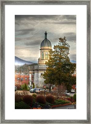 Cherokee County North Carolina Courthouse Framed Print