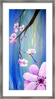 Cherry Blossoms 2 Framed Print by Diane Peters