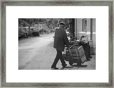 Cherry Time Framed Print by Lee Stickels