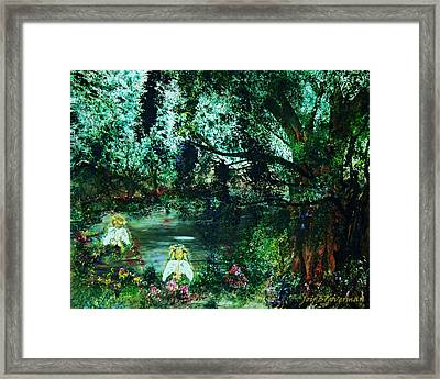 Cherub Lake Framed Print