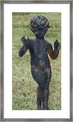 Cherub Watch Framed Print by James Collier