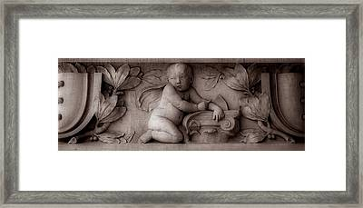 Cherubs 3 Framed Print by Andrew Fare