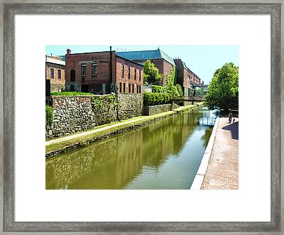 Chesapeake And Ohio Canal I Framed Print by Steven Ainsworth