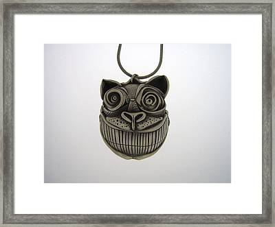 Cheshire Cat  Framed Print by Michael Marx