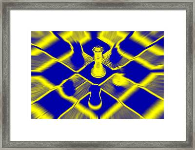 Framed Print featuring the photograph Chess by David Harding