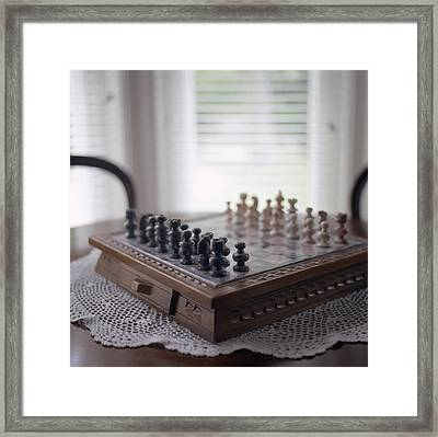 Chess Framed Print by Images Copyright Micah McCoy