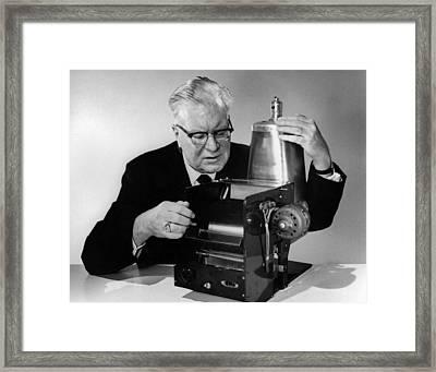 Chester Carlson 1906-1968 Framed Print