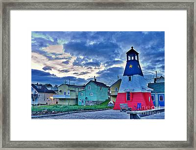 Cheticamp In Cape Breton Nova Scotia Framed Print