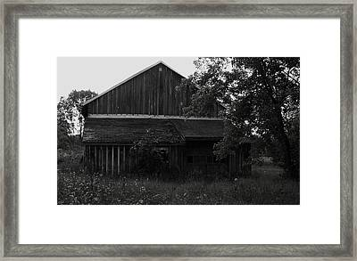 Chet's Barn Framed Print by Anna Villarreal Garbis