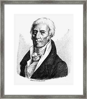 Chevalier De Lamarck Framed Print by Granger