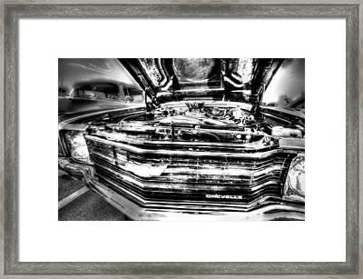 Chevelle - Black And White Framed Print