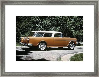 Chevrolet, 1957 Framed Print by Granger
