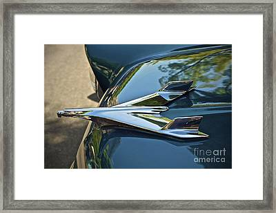 Chevrolet Bird Framed Print by Gwyn Newcombe