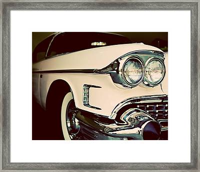 Chevrolet Cadillac No. 3 Framed Print by Lisa Russo