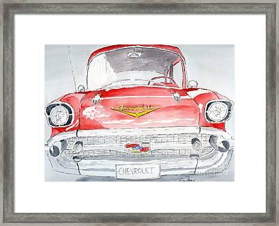 Chevrolet Framed Print by Eva Ason
