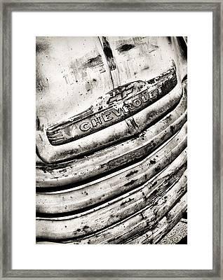 Chevrolet Framed Print by Ian Merton