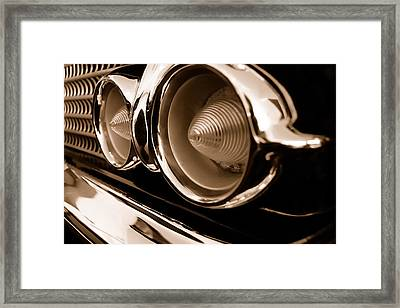 Chevrolet Nomad Delray - Turn Signals Framed Print by Steven Milner