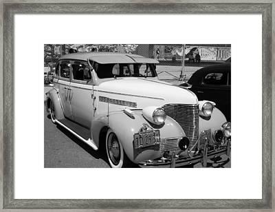 Chevy '39 Framed Print