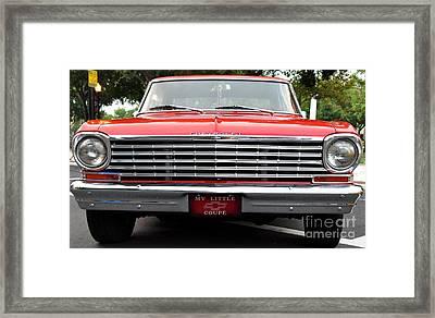 Chevy II Framed Print by John Black