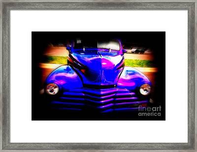 Chevy Reborn Framed Print