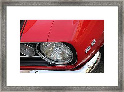 Chevy S S Emblem Framed Print by Bill Owen