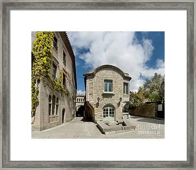 Chez Saskia Framed Print by Robert Lacy