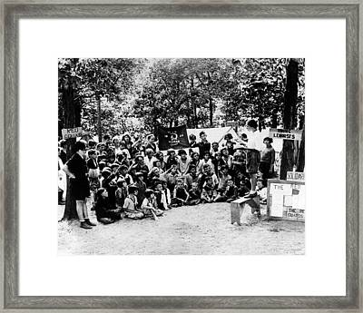 Chicago And Milwaukee Youngsters Framed Print by Everett