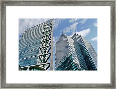 Chicago - City Of Big Shoulders Framed Print by Christine Till