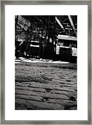 Chicago Cobblestone Framed Print