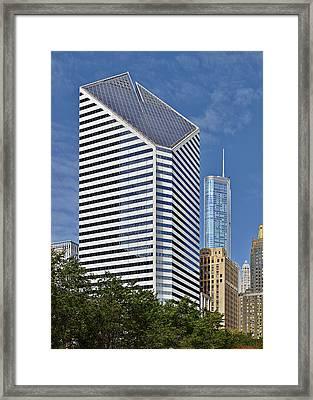 Chicago Crain Communications Building - Former Smurfit-stone Framed Print