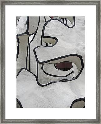 Chicago Dubuffet-1 Framed Print by Todd Sherlock