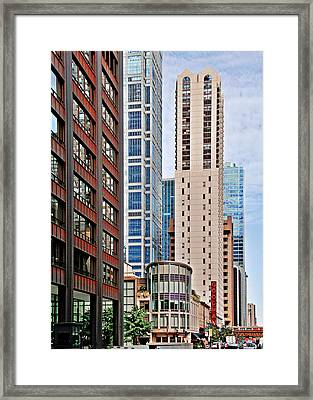 Chicago - Goodman Theatre Framed Print by Christine Till
