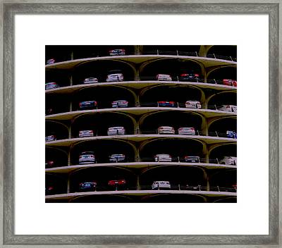 Chicago Impressions 3 Framed Print by Marwan George Khoury