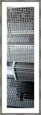Chicago Impressions 4 Framed Print by Marwan George Khoury