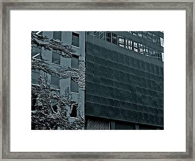 Chicago Impressions 5 Framed Print by Marwan George Khoury