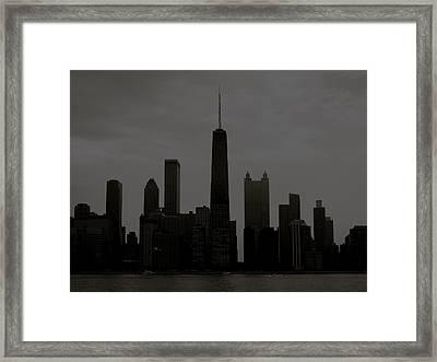 Chicago Impressions 6 Framed Print by Marwan George Khoury
