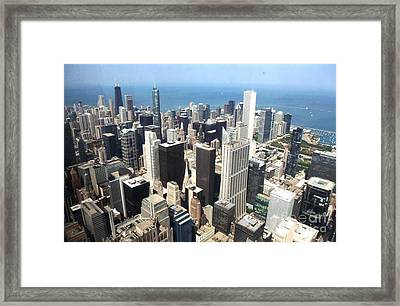 Chicago One Afternoon Framed Print