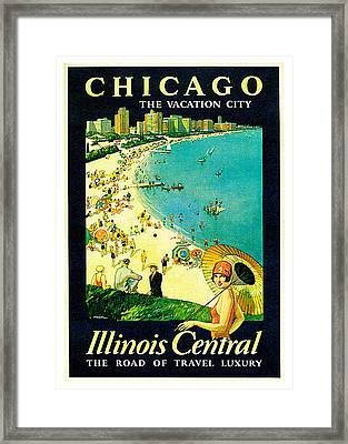 Chicago Framed Print by Paul Proehl