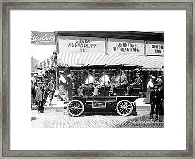 Chicago Sightseeing 1907 Framed Print