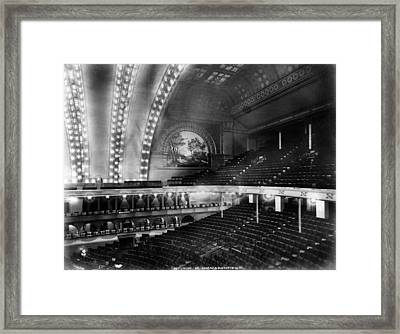 Chicago. The Chicago Auditorium Framed Print by Everett