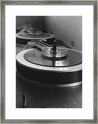 Chickamauga Dam Turbine Generators Framed Print