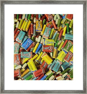 Chicle Framed Print