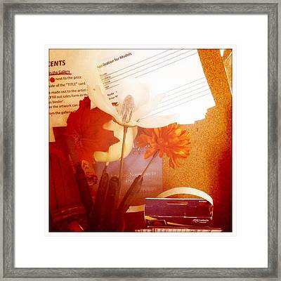 Chico Art Center Still Life Framed Print