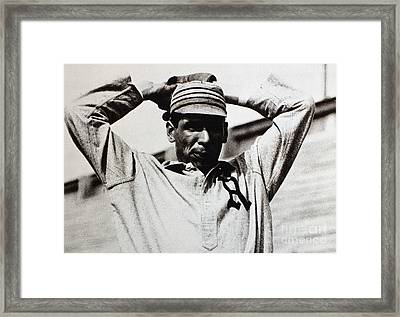 Chief Bender (1884-1954) Framed Print by Granger