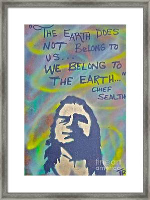 Chief Sealth Framed Print