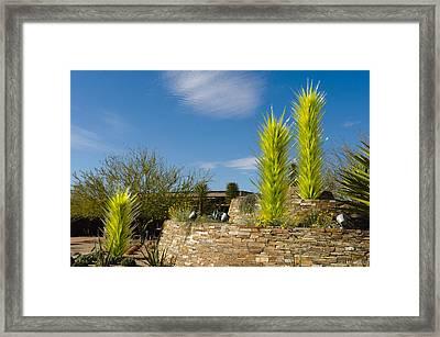 Chihuly In Arizona Framed Print by Jim Gilbert